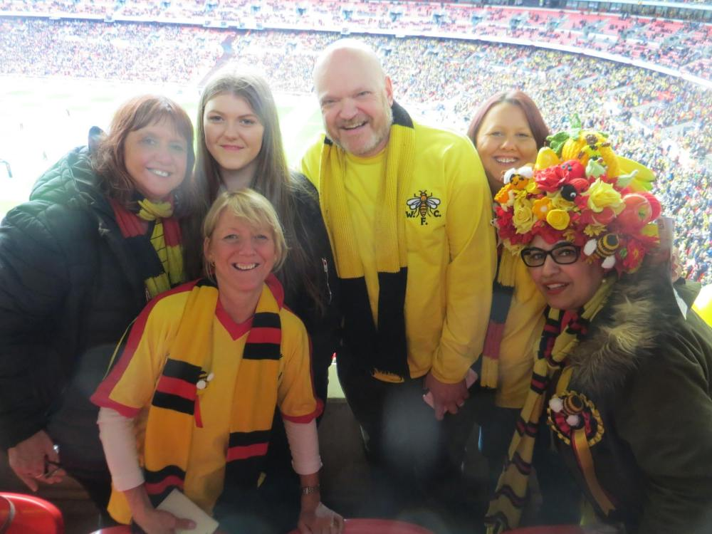 Family at Wembley