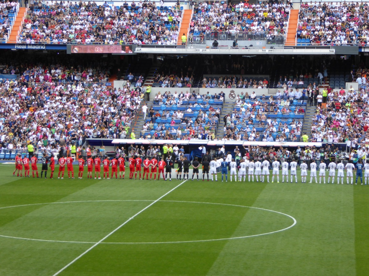 Legends vs Real Madrid - Bernabeu