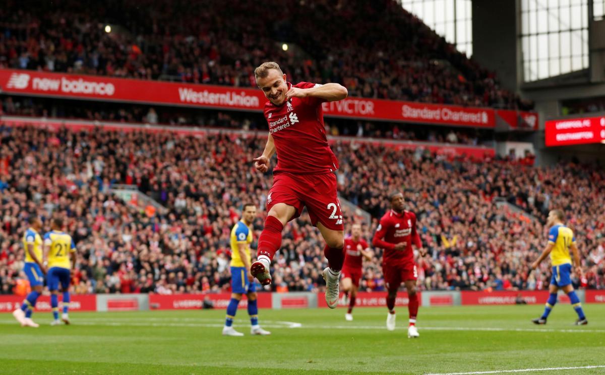 Crónica Liverpool-Southampton