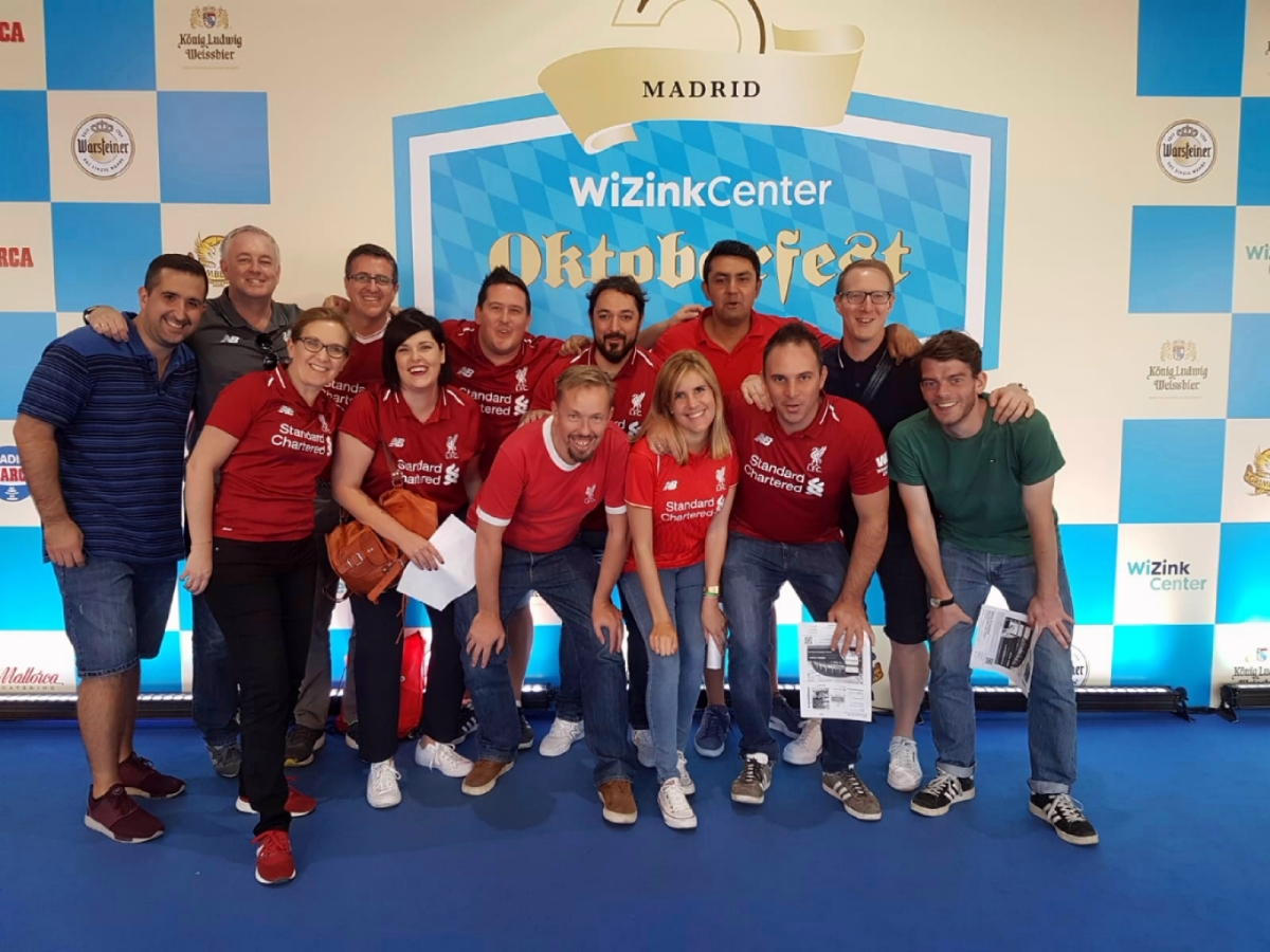 Madrid Reds do Oktoberfest - 2018