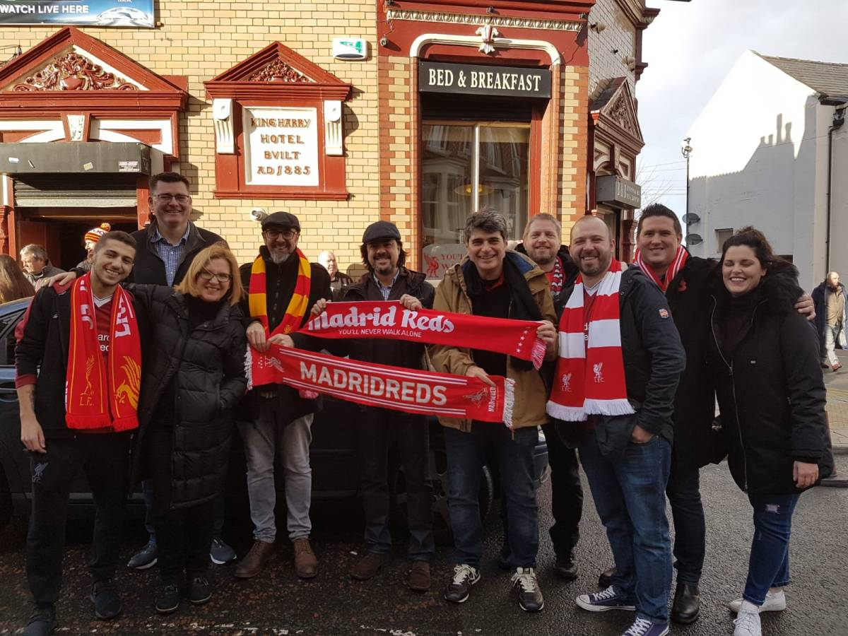 Madrid Reds in Liverpool - Fulham